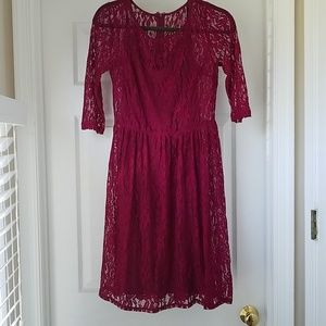 AB Studio from Macy's lace dress